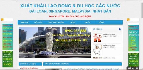 """Bài 1: Hàng loạt DN xuất khẩu lao động Singapore """"trái quy định""""? - Ảnh 3"""