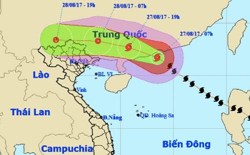 Cảnh báo mưa lớn ở miền Bắc, nguy cơ vỡ đập do ảnh hưởng bão số 7 - Ảnh 1