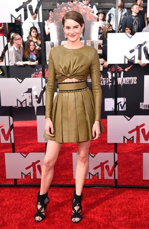 """Dàn sao lộng lẫy """"đọ sắc"""" trên thảm đỏ MTV Movie Awards 2014 - Ảnh 4"""