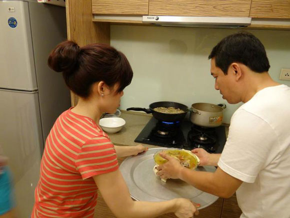 Sao nam trổ tài nấu nướng đảm đang hơn cả mỹ nhân Việt - Ảnh 12