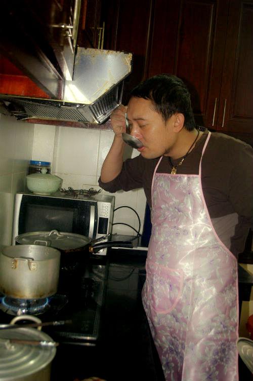 Sao nam trổ tài nấu nướng đảm đang hơn cả mỹ nhân Việt - Ảnh 19