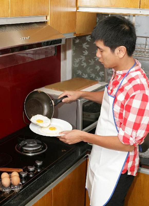 Sao nam trổ tài nấu nướng đảm đang hơn cả mỹ nhân Việt - Ảnh 20