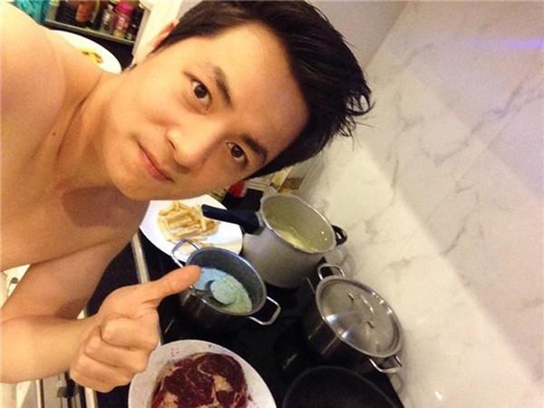 Sao nam trổ tài nấu nướng đảm đang hơn cả mỹ nhân Việt - Ảnh 21