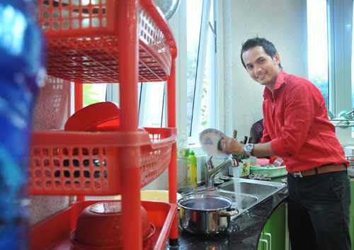 Sao nam trổ tài nấu nướng đảm đang hơn cả mỹ nhân Việt - Ảnh 26