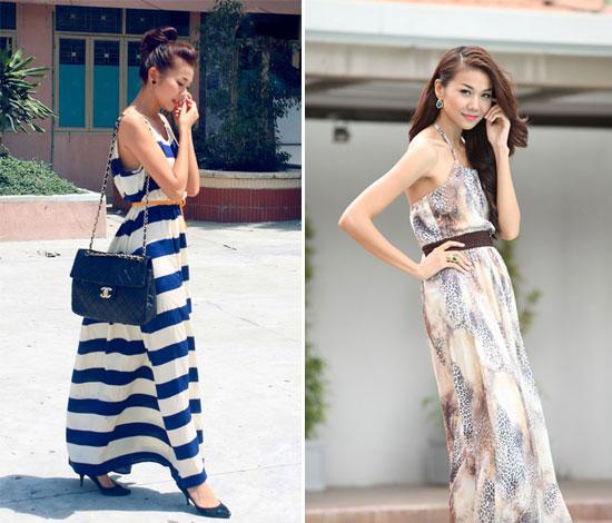 Sao Việt thướt tha, dịu dàng với váy maxi  - Ảnh 3