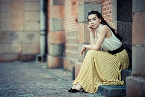Sao Việt thướt tha, dịu dàng với váy maxi  - Ảnh 2