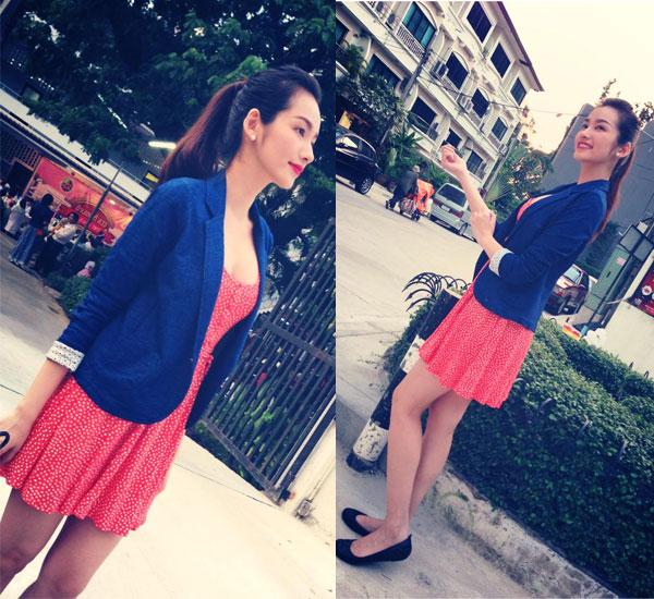 Street style Sao Việt tuần qua: Tóc Tiên sexy với yếm đỏ - Ảnh 16