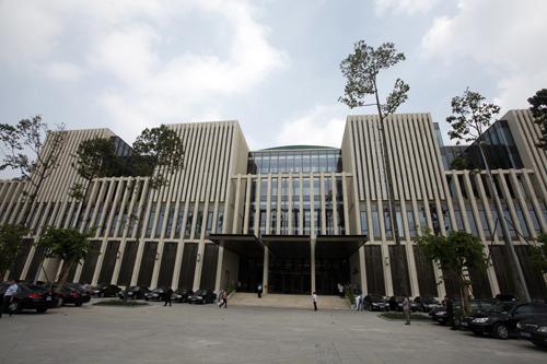 Cận cảnh tòa nhà Quốc hội cực hiện đại - Ảnh 2