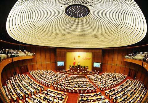 Cận cảnh tòa nhà Quốc hội cực hiện đại - Ảnh 8