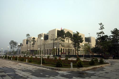 Cận cảnh tòa nhà Quốc hội cực hiện đại - Ảnh 1