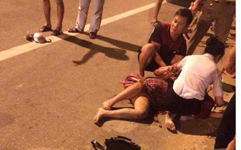 Hà Tĩnh: Thai phụ bị kéo lê 50m đang rất nguy kịch - Ảnh 1