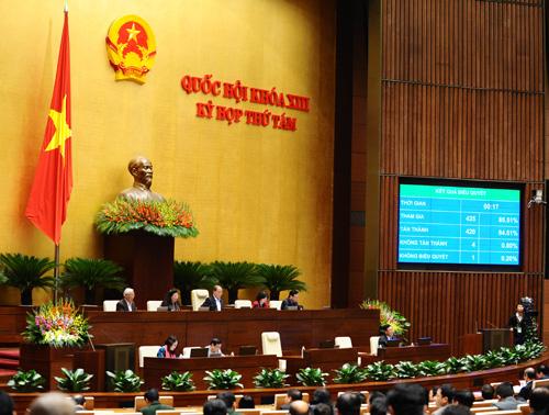 Quốc hội chính thức có chức danh Tổng thư ký từ 1/1/2015 - Ảnh 1