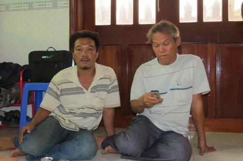 Ngư dân Phú Yên cứu 6 ngư dân Bình Định gặp nạn trên biển - Ảnh 1