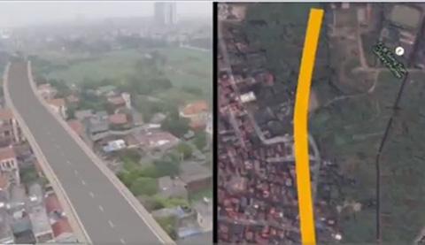Đường cong dát vàng 70 lần giữa thủ đô Hà Nội - Ảnh 1