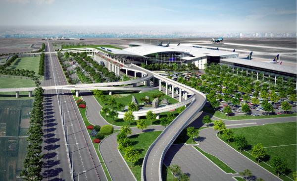 Sắp khai trương nhà ga T2 Nội Bài - Ảnh 1