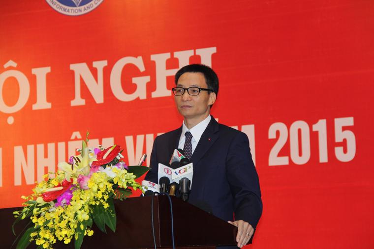 Phó Thủ tướng chỉ đạo nhiệm vụ ngành Thông tin và Truyền thông năm 2015  - Ảnh 1