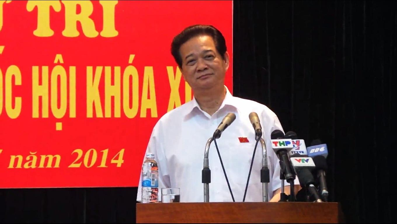 Thủ tướng: Kiên quyết đấu tranh buộc Trung Quốc rút giàn khoan - Ảnh 1