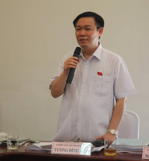 Trưởng Ban Kinh tế TƯ:  Chính phủ đã đánh giá sát với thực tế - Ảnh 1