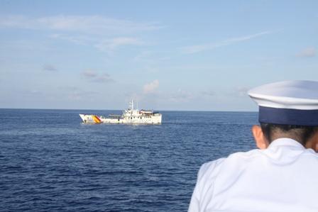 Gặp các kiểm ngư đang bảo vệ chủ quyền Tổ quốc ở biển Đông - Ảnh 3