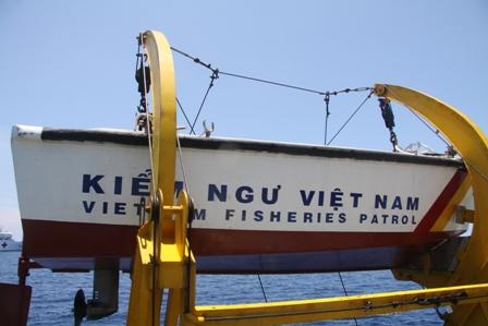 Gặp các kiểm ngư đang bảo vệ chủ quyền Tổ quốc ở biển Đông - Ảnh 4