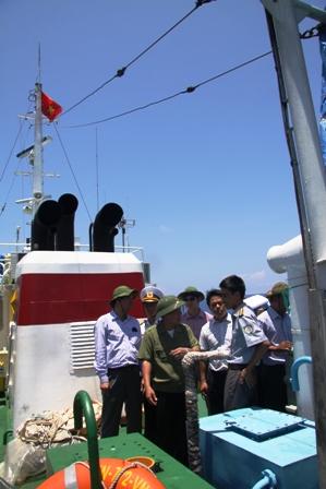 Gặp các kiểm ngư đang bảo vệ chủ quyền Tổ quốc ở biển Đông - Ảnh 6
