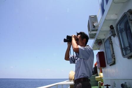 Gặp các kiểm ngư đang bảo vệ chủ quyền Tổ quốc ở biển Đông - Ảnh 8