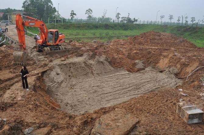 Đường ống nước Sông Đà tiếp tục gặp sự cố lần thứ 8 - Ảnh 1