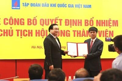 Công bố tân Chủ tịch Tập đoàn Dầu khí Việt Nam - Ảnh 1