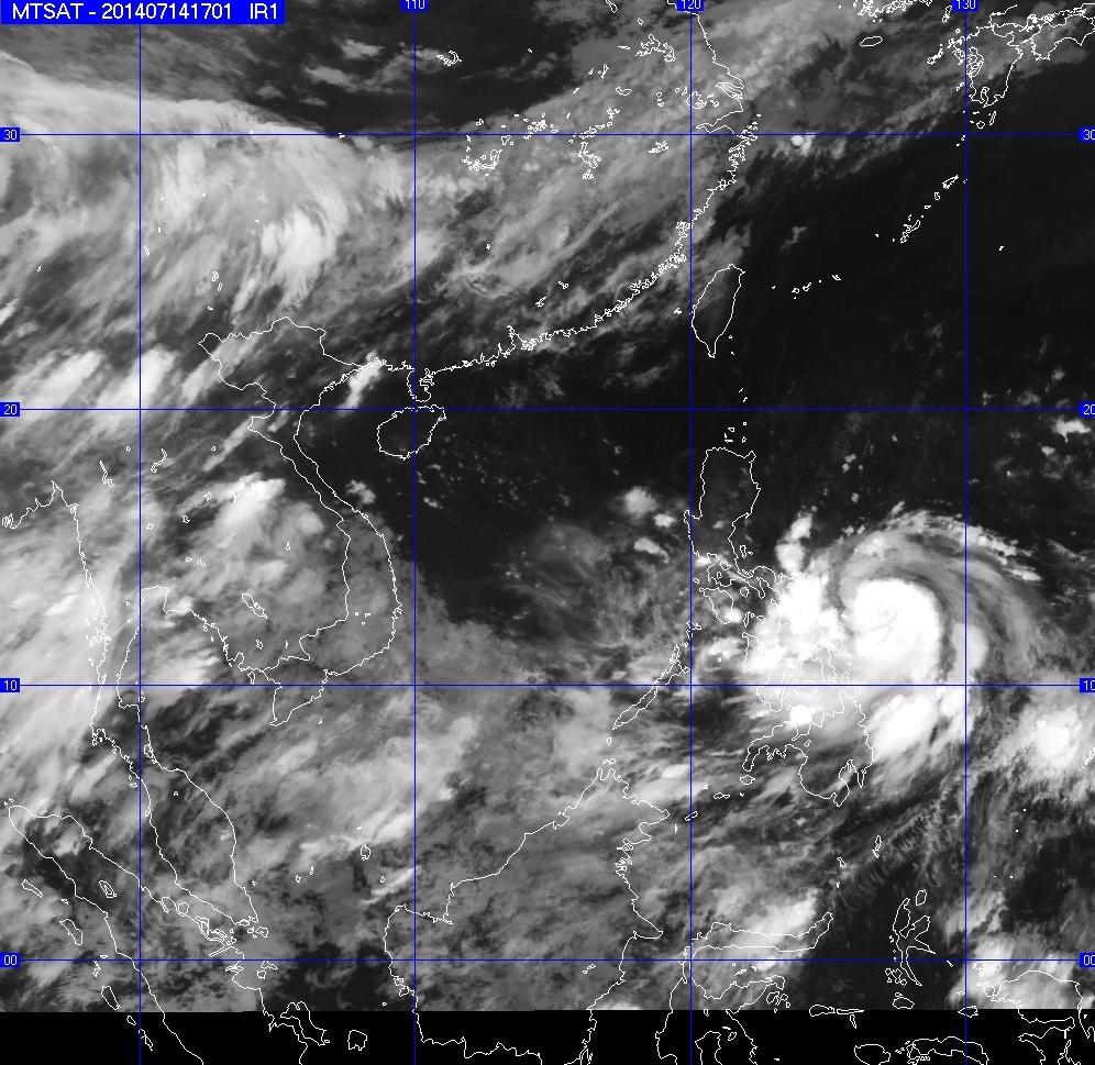Tin tức mới nhất về cơn bão trên Biển Đông - Ảnh 1