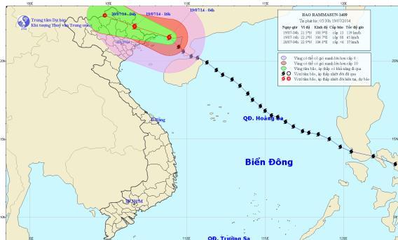 Tin bão mới nhất: Bão số 2 đổ bộ Quảng Ninh, TP Móng Cái mất điện - Ảnh 1