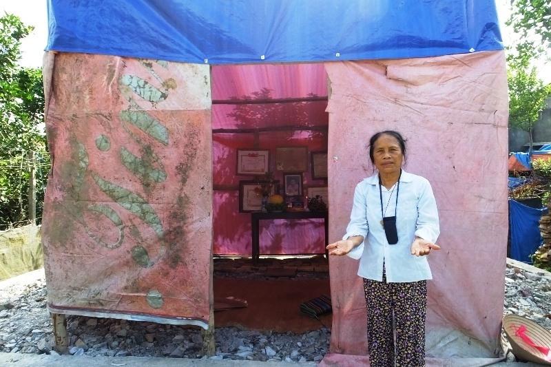 Xót xa con gái dựng lều làm chỗ thờ Mẹ Việt Nam Anh hùng - Ảnh 4