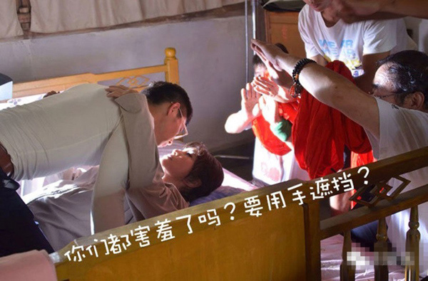 """Lưu Hiểu Khánh đóng cảnh """"giường chiếu"""" mất 2 tiếng và sập giường - Ảnh 2"""