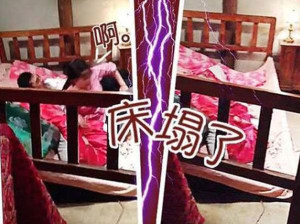 """Lưu Hiểu Khánh đóng cảnh """"giường chiếu"""" mất 2 tiếng và sập giường - Ảnh 3"""