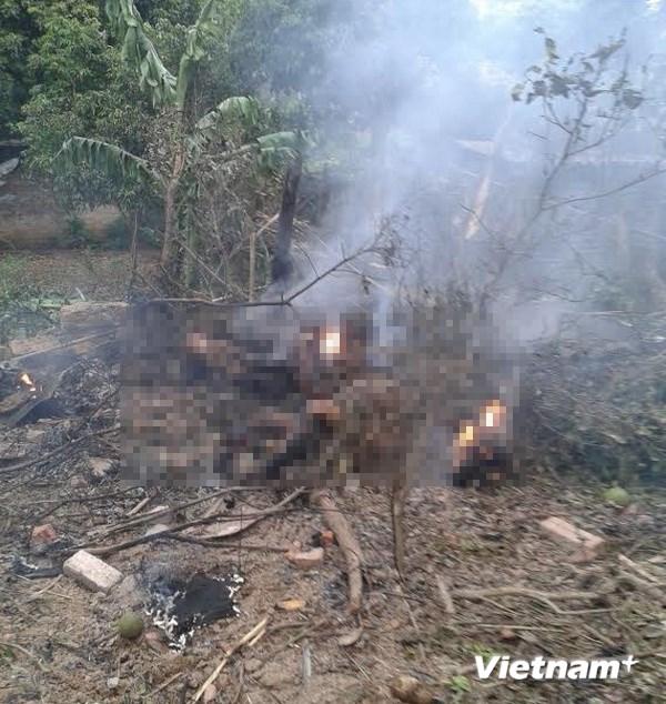 Hình ảnh vụ máy bay rơi ở Hòa Lạc, 17 chiến sỹ hy sinh - Ảnh 3
