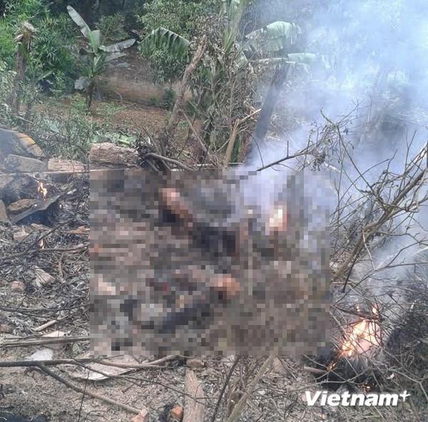 Hình ảnh vụ máy bay rơi ở Hòa Lạc, 17 chiến sỹ hy sinh - Ảnh 5