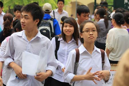 Đã có điểm thi vào lớp 10 năm 2014 ở Hà Nội - Ảnh 1