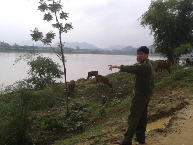 Thanh Hóa: Đi tắm sông, một người mất tích   - Ảnh 1