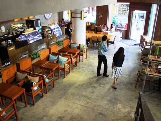 """""""Náo động"""" vì quán cà phê Hàn Quốc khai trương - Ảnh 12"""