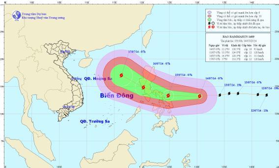 Việt Nam vẫn có nguy cơ hứng chịu 3- 4 cơn bão - Ảnh 1