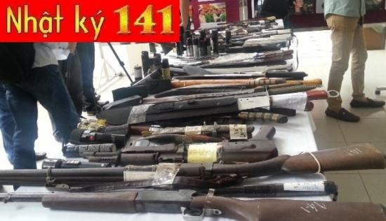 """Kho vũ khí """"khủng"""" của 141 thu giữ từ tội phạm - Ảnh 3"""