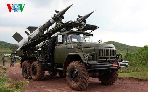 Hình ảnh bắn thành công tổ hợp tên lửa phòng không cải tiến - Ảnh 4