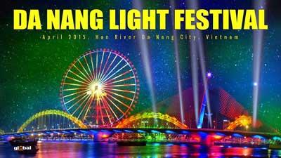 Lễ hội ánh sáng Đà Nẵng 2015 - Ảnh 1