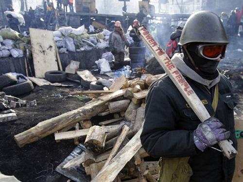 Tổng thống Pháp lo Ukraina sa vào nội chiến - Ảnh 2