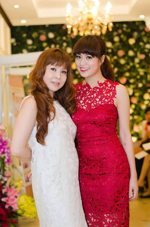 Ngắm những bà mẹ xinh đẹp, trẻ trung của sao Việt - Ảnh 2