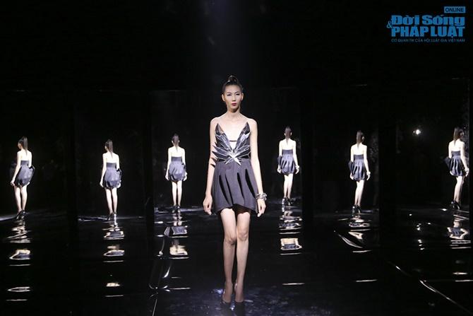 """Xuân Lan hóa """"phù thủy quyền lực"""" trong Vietnam's Next Top Model - Ảnh 2"""