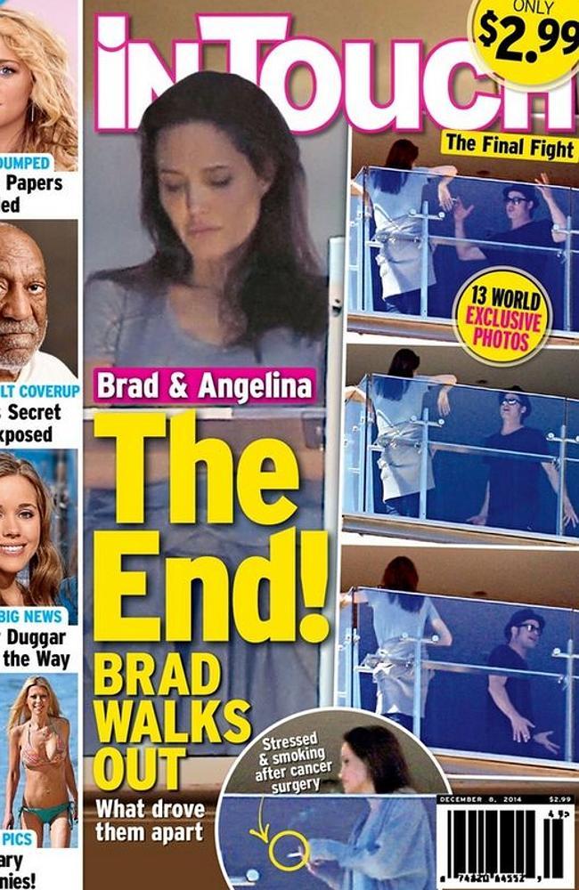 Lộ ảnh Angelina Jolie và Brad Pitt tranh cãi nảy lửa - Ảnh 1