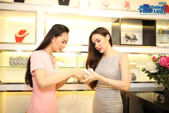 Diệu Hân chọn trang phục cho ứng cử viên Hoa hậu Việt Nam - Ảnh 4