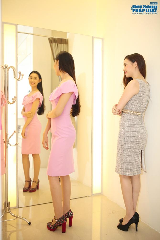Diệu Hân chọn trang phục cho ứng cử viên Hoa hậu Việt Nam - Ảnh 6