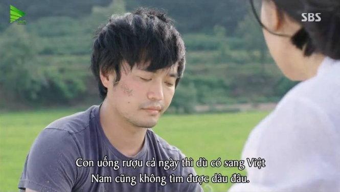 Đài truyền hình Hàn Quốc xin lỗi vì lời thoại coi thường cô dâu Việt - Ảnh 1