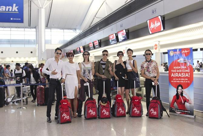 Top 7 Vietnam's Next Top Model khám phá Thái Lan - Ảnh 1